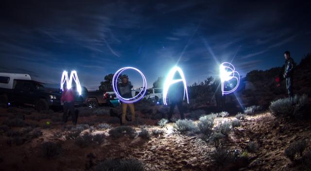 Moab, Utah GGBY highlining event