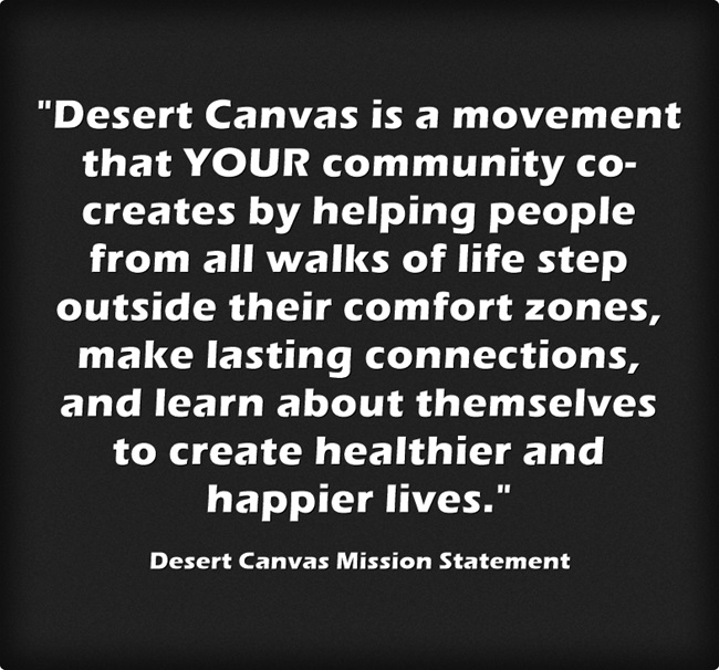 Desert Canvas Mission Statement